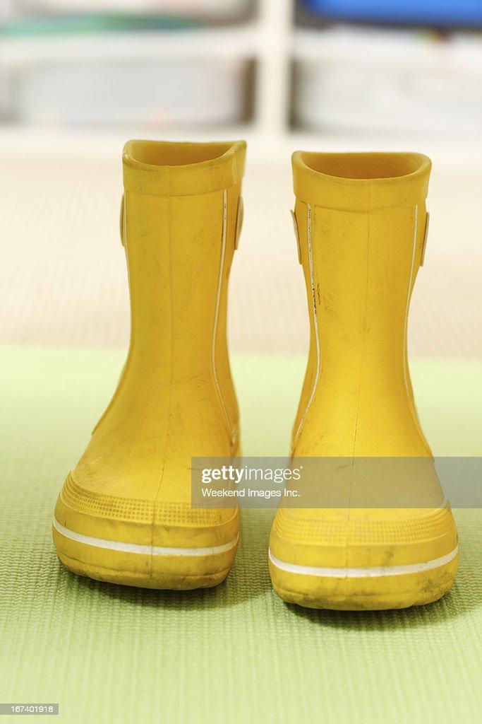 rain boots : Stock Photo