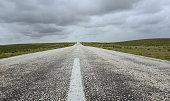 Road,Farm, Rain, Cloud - Sky, Field, Meadow, Winter, Road, Dark, Empty