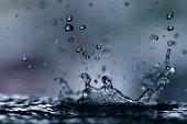 Rain drops keep falling....
