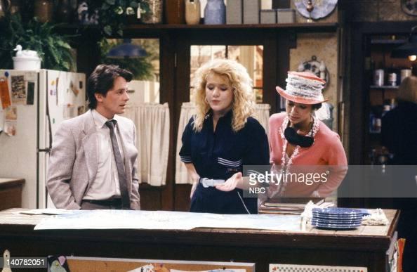 TIES 'Rain Forests Keep Fallin' on My Head' Episode 21 Pictured Michael J Fox as Alex P Keaton Tina Yothers as Jennifer Keaton Justine Bateman as...