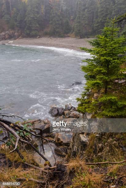 Rain, Little Hunters Beach, Acadia National Park