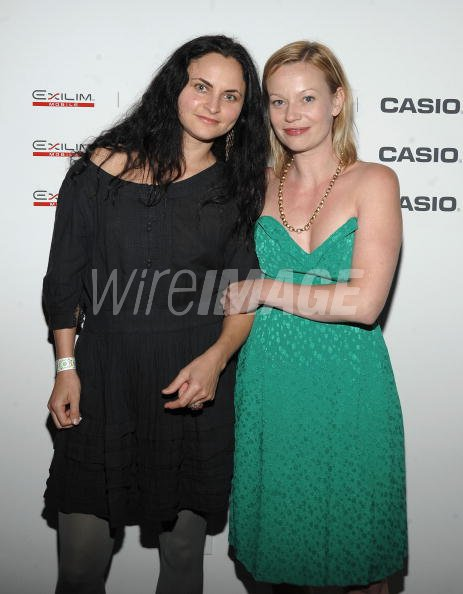 rain phoenix and samantha mathis attend the casio exilim mobile nyc
