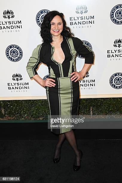 Rain Phoenix arrives at The Art of Elysium presents Stevie Wonder's HEAVEN celebrating the 10th Anniversary at Red Studios on January 7 2017 in Los...