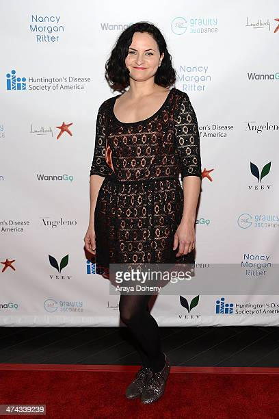 Rain Phoenix attends the Huntington's Disease Society of America 2014 Freeze HD benefit at Mack Sennett Studios on February 22 2014 in Los Angeles...