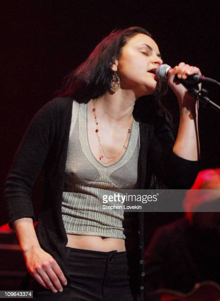 Rain Phoenix during 'Bring 'Em Home Now' Concert Marking The Third Anniversary of The Iraq War at Hammerstein Ballroom in New York City NY United...