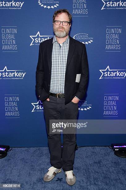 Rain Wilson attends the Clinton Global Citizen Awards during the second day of the 2015 Clinton Global Initiative's Annual Meeting at the Sheraton...