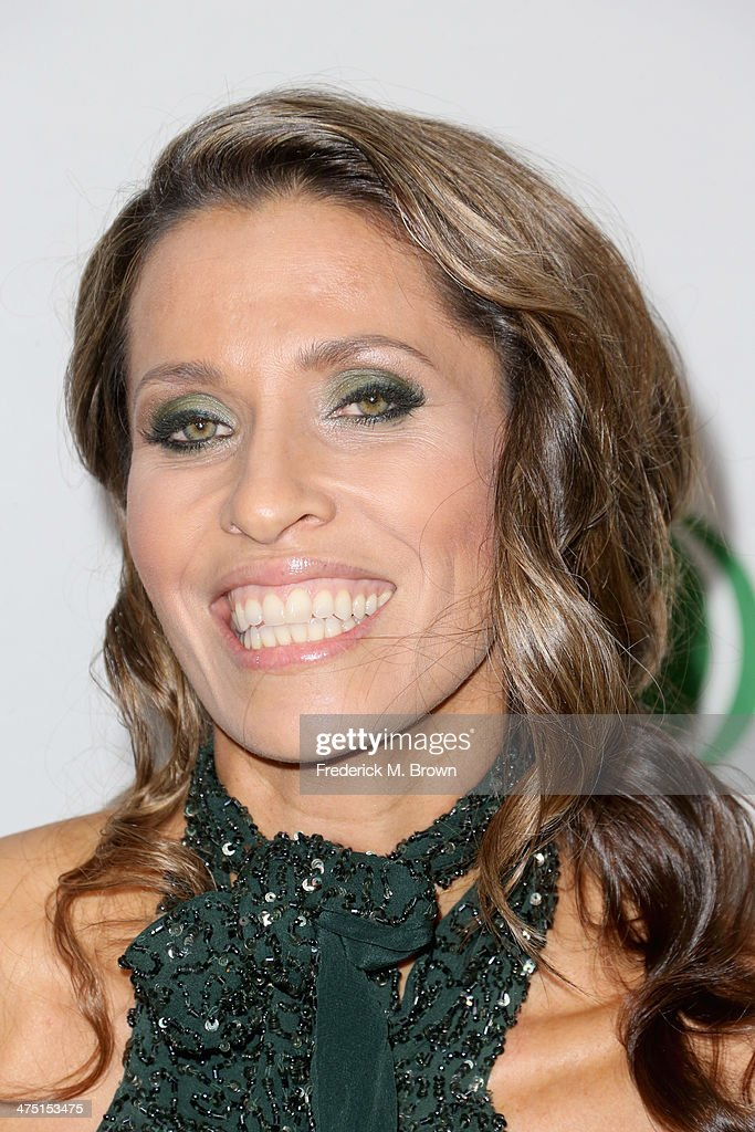 Rainbeau Mars attends Global Green USA's 11th Annual Pre-Oscar party at Avalon on February 26, 2014 in Hollywood, California.