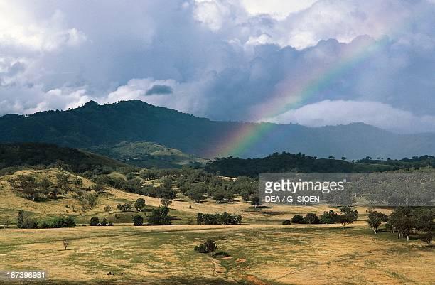 Rainbow at Beltress Scone New South Wales Australia