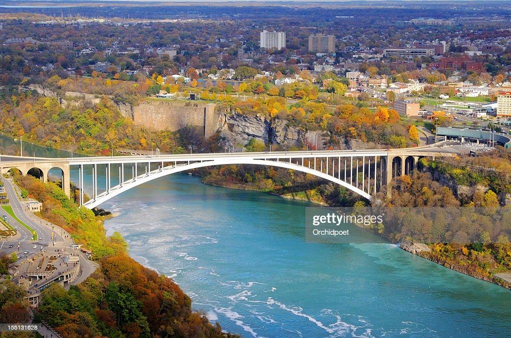 Rainbow Brdige Over Niagara River