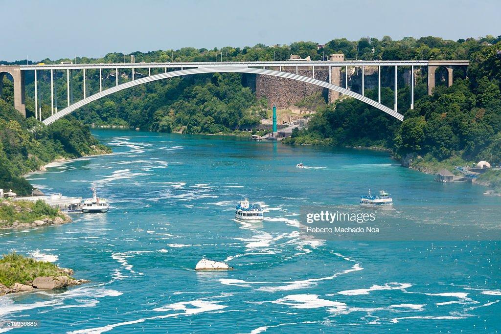 Rainbow Bridge in the Canada-US Border.