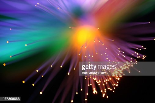 Rainbow luces de ráfaga