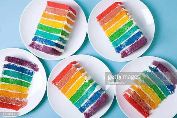 Rainbow-Kuchen