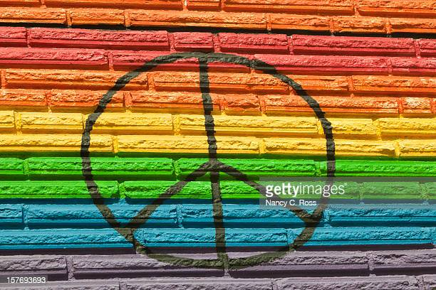 Rainbow Color, Equality for All, Peace Symbol