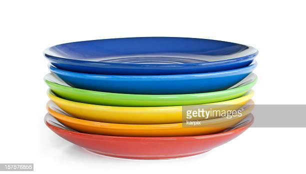 Rainbow dishes