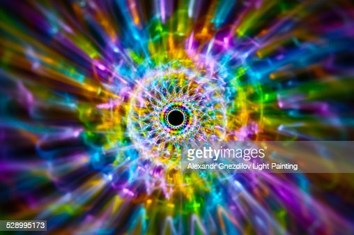 Rainbow Fossil / Abstract Light Painting