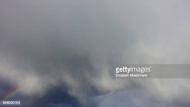Rainbow in Montana sky