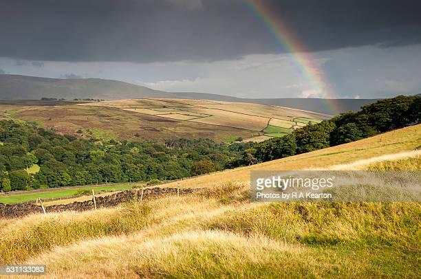 Rainbow in the Peak District
