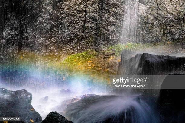 Rainbow of the basin