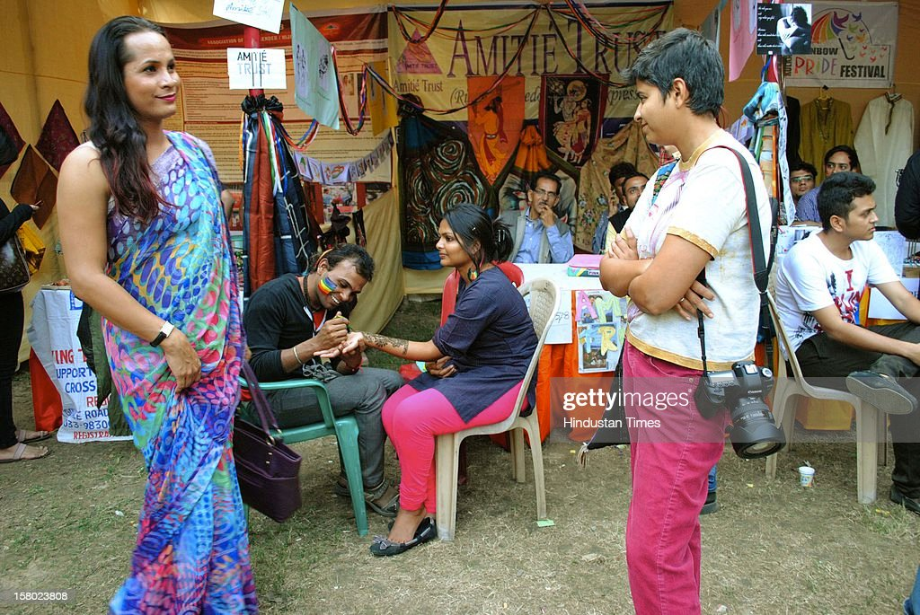 """Rainbow organised a carnival for lesbian, gay, bisexual and transgender (LGBT) at Rabinda Sadan area on December 9, 2012 Kolkata, India. The community was originally intended to signify a diversity of """"sexuality and gender identity based cultures"""", and to advocate the rights of its members."""
