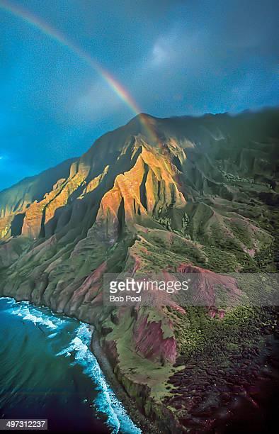 Rainbow over NaPali Cliff's