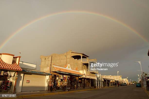Rainbow over Puerto Pe?asco