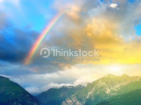 Rainbow : Stock Photo