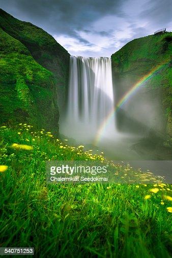 Rainbow Skogafoss