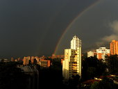 Rainbows at Medellin