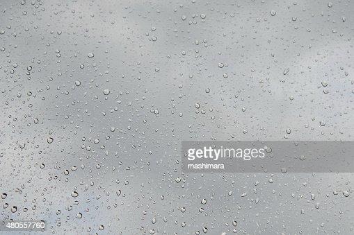 Raindrops : Stock Photo