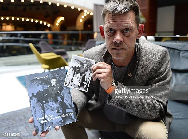 FAU Rainer Hoess the grandson of Rudolf Hoess the Nazi commandant of the Auschwitz concentration and extermination camp shows the picture on the...