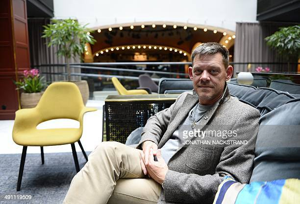 FAU Rainer Hoess the grandson of Rudolf Hoess the Nazi commandant of the Auschwitz concentration and extermination camp is pictured on April 30 2014...