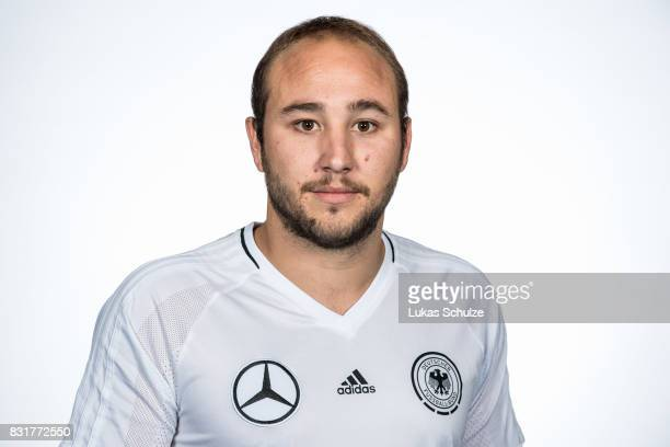 Rainer Schreiber Fernandez poses at Sport School Wedau on August 11 2017 in Duisburg Germany
