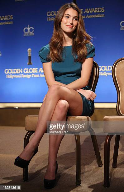 Rainey Qualley attends the 69th Annual Golden Globe Awards nomination announcement held at The Beverly Hilton hotel on December 15 2011 in Beverly...