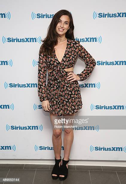 Rainey Qualley visits at SiriusXM Studios on September 22 2015 in New York City