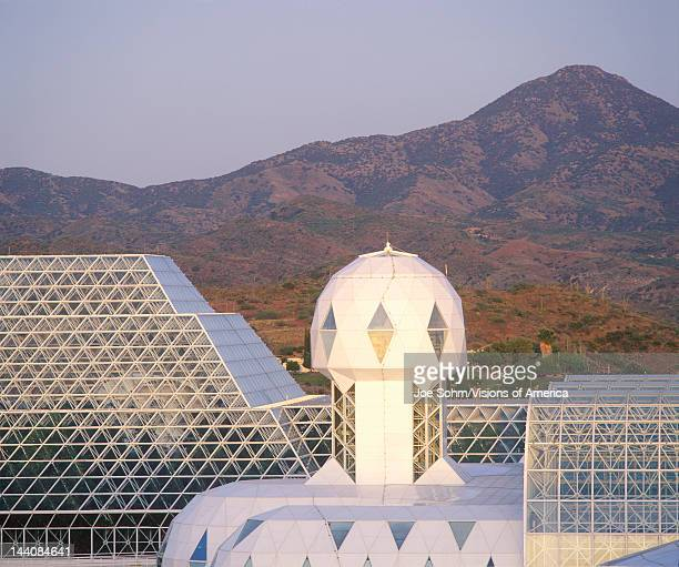 Rainforest and living quarters of Biosphere 2 at Oracle in Tucson AZ