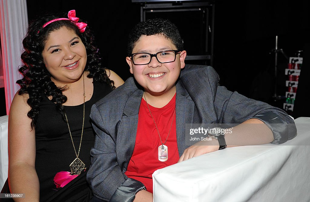 Raini and Rico Rodriguez attend the Third Annual Hall of Game Awards hosted by Cartoon Network at Barker Hangar on February 9, 2013 in Santa Monica, California. 23270_004_JS_0308.JPG