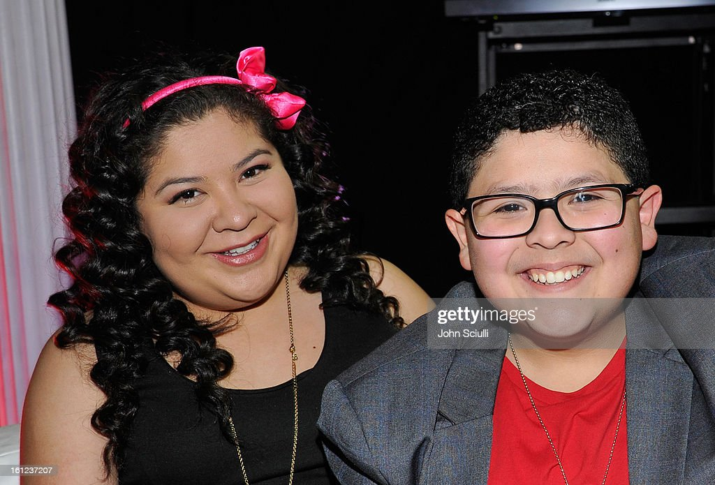 Raini and Rico Rodriguez attend the Third Annual Hall of Game Awards hosted by Cartoon Network at Barker Hangar on February 9, 2013 in Santa Monica, California. 23270_004_JS_0310.JPG