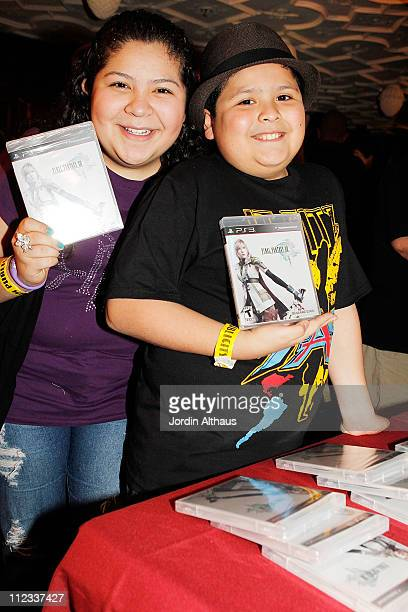 Raini Rodriguez and Rico Rodriguez attend Melanie Segal's Oscar Lounge benefitting iHeartHollywoodProjectcom day 2 at House of Blues Sunset Strip on...
