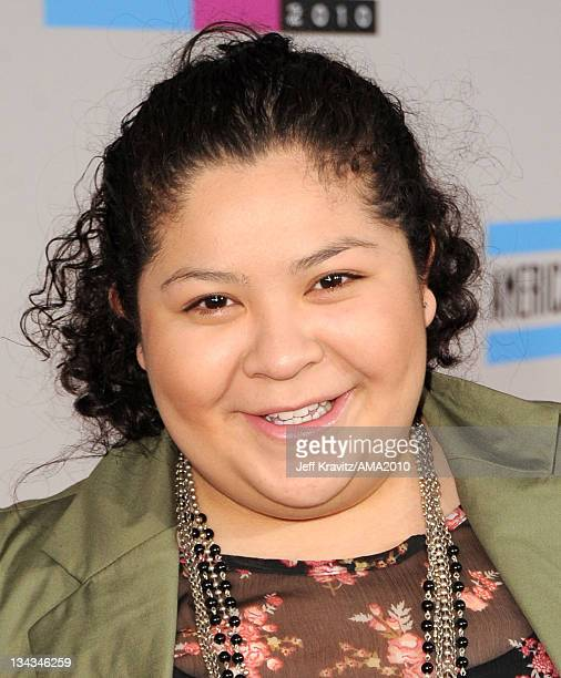 Raini Rodriguez arrives at the 2010 American Music Awards at Nokia Theatre LA Live on November 21 2010 in Los Angeles California