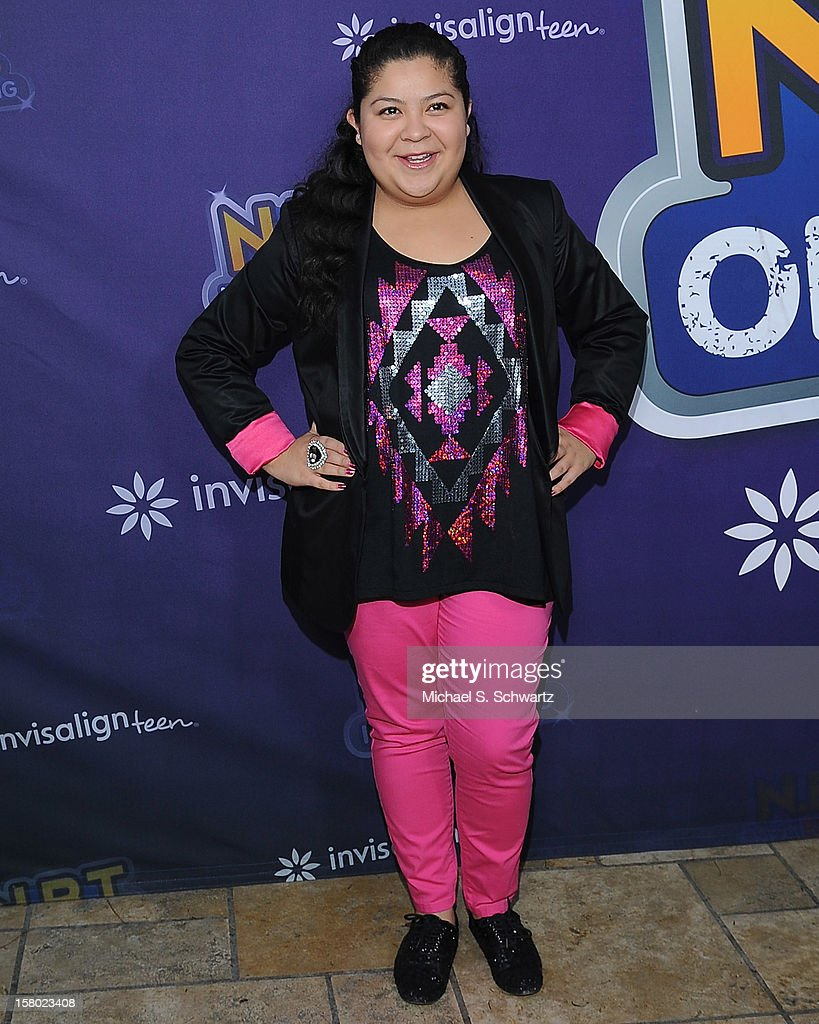 Raini Rodriguez arrives at the Radio Disney's 'N.B.T.' (Next BIG Thing) Season 5 winner and finale event at The Americana at Brand on December 8, 2012 in Glendale, California.