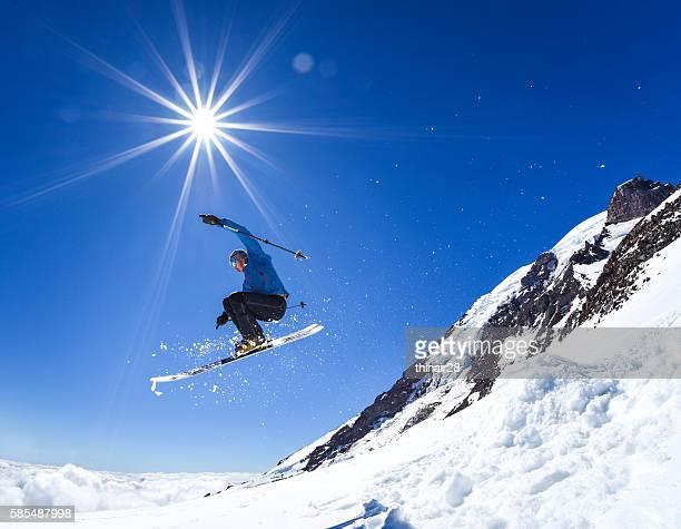 Rainier Ski Jump