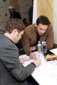 Rainn Wilson and Jeremy Sisto at Neutrogena during 2007 Park City Luxury Lounge Day 5 at Main Street in Park City Utah United States