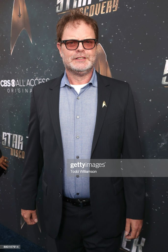 Rainn Wilson attends the premiere of CBS's 'Star Trek: Discovery' at The Cinerama Dome on September 19, 2017 in Los Angeles, California.