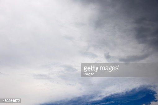 Rainy Cloudscape : Stock Photo