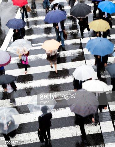 Rainy Commuters