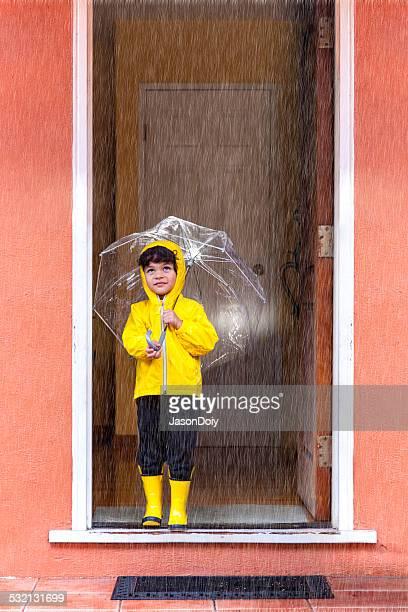 雨の日に進む