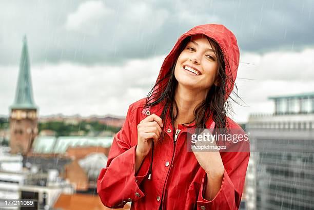 Regentage nie Sie unten