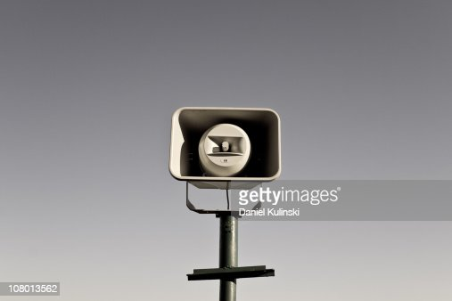 Raise your voice : Stock Photo