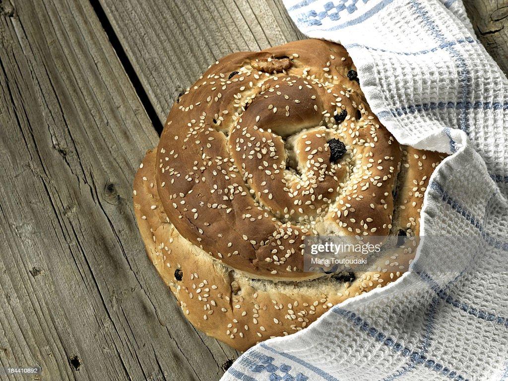 Raisin bread : Stock Photo