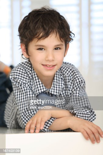 Raising a confident child : Stock Photo